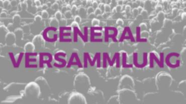 57. Generalversammlung 16. Januar 2020